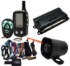 Avital 3300 Car Alarm Security System And 2-way LCD Paging Avital 3300L