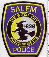 Salem Police (Massachusetts) Shoulder Patch - new from 1992