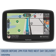 TomTom Go Camper GPS Wi-Fi SatNav w/ Lifetime World Maps & Traffic Speed Cameras