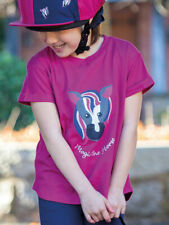 Shires Tikaboo Horse Riding T-Shirt - Childs Girls Boys Age 2-8 Years