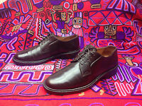 OXFORD J. CREW GIFFORD BURGUNDY CORDOVAN LEATHER WEEKEND POWER SHOES  9.5M
