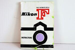 NIKON F EARLIEST INSTRUCTIONS MANUAL NIPPON KOGAKU TOKYO