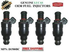 (4) Rebuilt Fuel Injectors -91-92-93 Ford Escort 1.9L I4- OEM Lucas Part#D1580BC