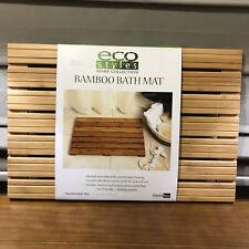 "New Eco Styles Creative Bath Bath Mat Bamboo 34015 21"" x 14"""