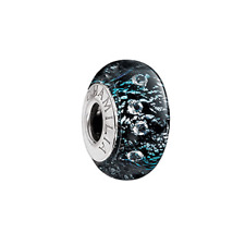 Chamilia Radiance Collection Black Shine Bead In 925 Sterling Silver,OB-202