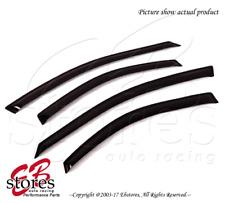 For Chrysler Cirrus 1995-2000 Outside-Mounted Dark Smoke JDM Window Visors 4pcs