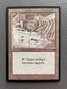 MTG | Relic Barrier | Legends | Englisch | Vintage | Ungespielt