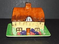 EMPIRE WARE TUDOR SERIES COTTAGE BUTTER DISH ENGLAND 871