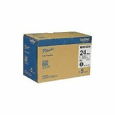 HGE2515PK Black on White Label Tape Ink Brother