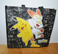POKEMON TOTE BAG Reusable Shopping Bag Halloween Trick Or Treat New Unused
