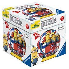 Despicable Me Minions 3D Puzzleball 54 Piece Ravensburger Jigsaw Puzzle