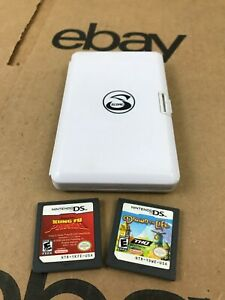Score Nintendo DS Game Case with 2 Game Kung Fu Panda / Drawn To Life