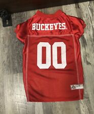 New listing Ohio State Buckeyes Pet Dog Game wear Mesh Jersey