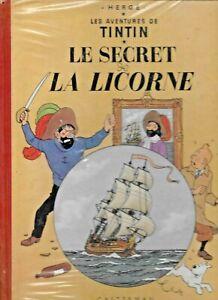 TinTin 1947 Le Secret de La Licorne Herge Les Aventures Hardcover French Comics