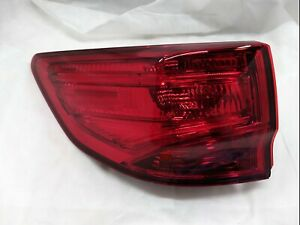 Left Tail Light Outer Trunk Lid Acura MDX 2014-2020 33550-TZ5-A02 Unit 3