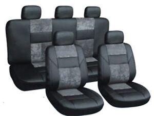 Autositzbezüge Autoschonbezüge Grau passend für Opel Corsa D Yeti Caddy Combo