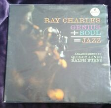 Genius + Soul = Jazz - Ray Charles LP Impulse A-2 Mono