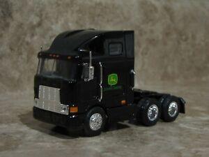 Ertl 1/64 Black Cabover Semi Truck John Deere Farm Toy Peterbilt Kenworth