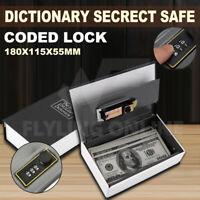 Dictionary Secret Hidden Security Safe Code Lock Cash Money Jewellery Locker