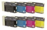 8 x Original Ink Epson B300 B500dn B510dn / T6161 T6162 T6163 T6164 Cartridges