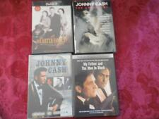 4 DVD's All Johnny Cash & Carter Family 2 Like New 2 Brand New Anthology & More