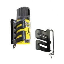 Holster für Abwehrsprays 40 ml Pfefferspray CS Gas mit Gürtelklipp 2387