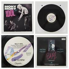"Billy Idol Mony Mony 1987 Live Remix Dub 12"" Maxi Single Tested NM/EX Chrysalis"