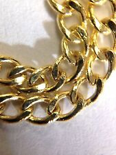 """Solid 14K Yellow Gold 20"""" 2.5mm Shimmering Cuban Link Chain Necklace 