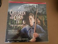CHILDREN OF THE CORN IV THE GATHERING Part 4 Laserdisc LD NM Horror Movie