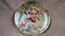 """Innocence By Jack Woodson Royal Windsor Plate 8 5/8'"""" Gold Trim Free Shipping!"""