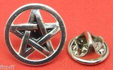 Pentacle Pentagram Lapel Hat Tie Pin Badge Wicca Star Wiccan Wiccans Pagan