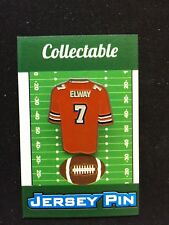 Denver Broncos John Elway lapel pin-Classic Collectable-Fan Favorite Player