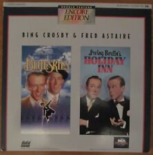 Bing Crosby Double-Feature Laserdisc - Blue Skies / Holiday Inn