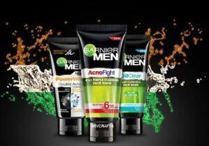 GARNIER Men Face Wash Oil Clear Power White Fairness Acno Fight Intense Fresh