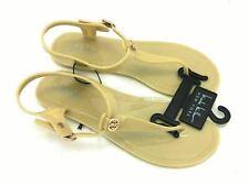 Nichole Miller New York Women's Sandals Tan Side Buckle Size 7