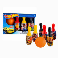 Hot Wheels Bowling Set 6 Pins 1 Ball Kids Christmas, B-Day Gift Play set toy 2+