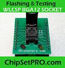 WLCSP BGA12 EFI SPI ROM Socket Bios Service Reflashing Tool Notebook A1706 U6100