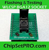 WLCSP BGA12 EFI Debug Socket Bios Service Reflashing tool Icloud Macbook U6100