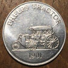 JETON TOKEN ANTIQUE CAR COIN PHELPS TRACTOR 1901 (416)