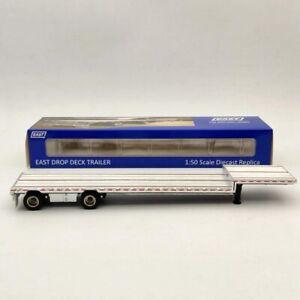 WB 1:50 East drop deck Trailer Only WBR027-1700 Aluminum/Black Diecast Truck