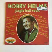 SEALED Bobby Helms Jingle Bell Rock Vinyl Record Christmas Album Mint