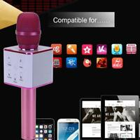 Q7 Wireless Bluetooth Karaoke Mikrofon Lautsprecher Handheld Mic KTV Microphone