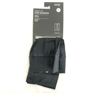 GORE C3 Knee Warmers Cycling Black Size XS-S