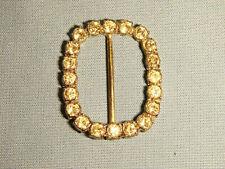 Gürtelschließe Brilliant funkelnde Straßsteine  Gold     Gürtelschnalle  30mm