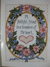 A Faithful Friend Sealed Bucilla Counted Cross Stitch Kit Joan Elliott 9x12