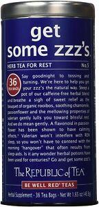 get Some ZZZ's Tea by The Republic of Tea, 36 tea bags
