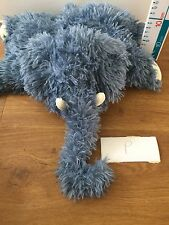 Jellycat elephant soother toy cushion pillow rare retired Soft Plush Toy