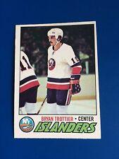 1977-78 O-Pee-Chee OPC Bryan Trottier #105