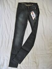 FREESOUL Damen Blue Jeans Stretch Röhre W25/L36 slim fit x-low waist tube