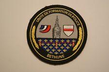 PATCH ECUSSON INSIGNE UNITE DE FORMATION DE POLICE BETHUNE ECOLE